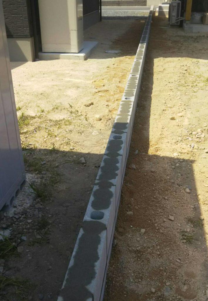 ウッド フェンス 支柱